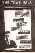 John cage town hall concert 1958